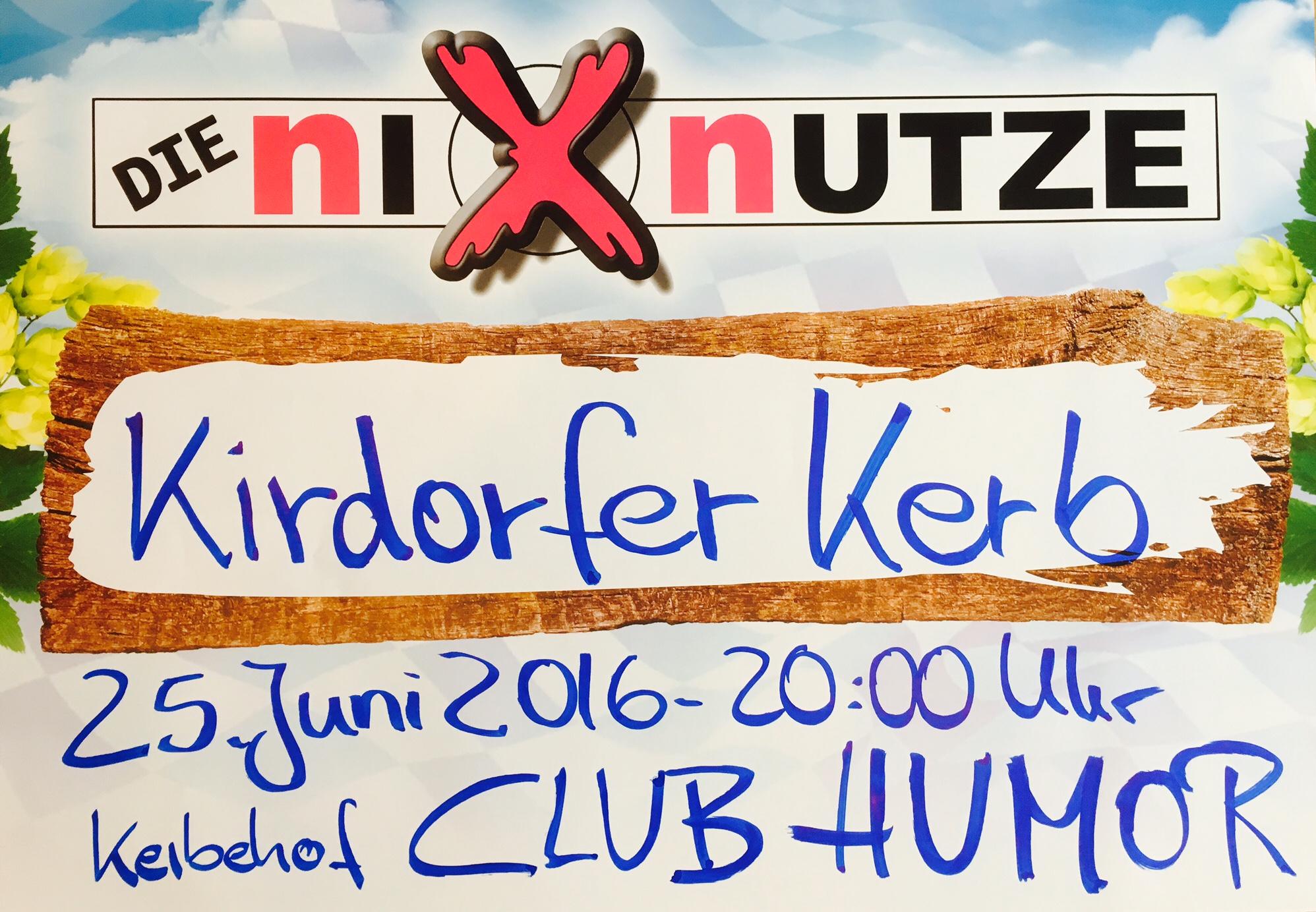 Nixnutze-Plakat